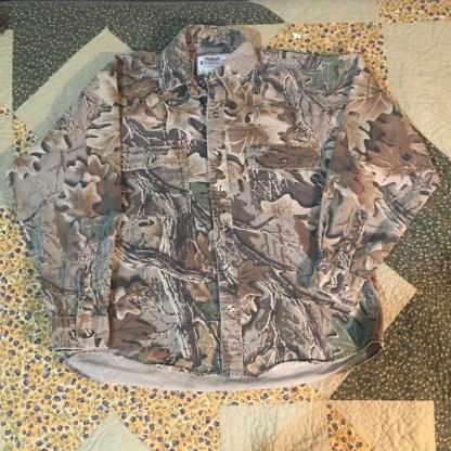 Wrangler Rough Wear Camo Long Sleeve