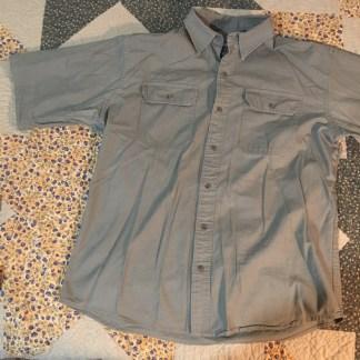 Red Head Rip-stop Material Short Sleeve Shirt