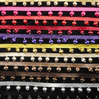 covered bead fringe