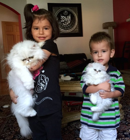 Taneska on the left with my 4 year old niece