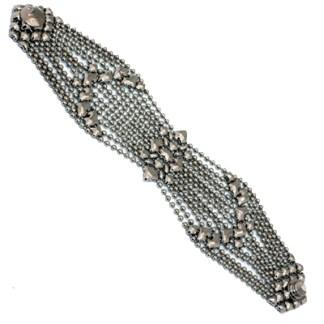 Sergio Gutierrez Liquid Metal Bracelet Wide Butterfly Mesh, 7