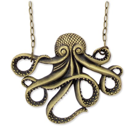 Silver Fever® Octopus Necklace