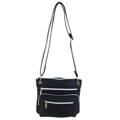 Silver Fever® East West Cross Body Bag