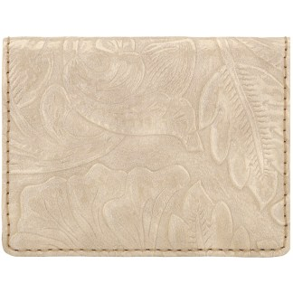 American West Bandana Amour Men's or Women's By Fold Wallet Cream