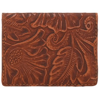 American West Bandana Amour Men's or Women's By Fold Wallet  Sunset Orange
