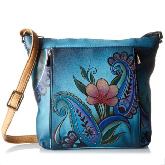 Anna by Anuschka Satchel Hanbdag Medium Butterfly Paradise