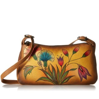 Anna by Anuschka Shoulder Handbag E-W Turkish Garden