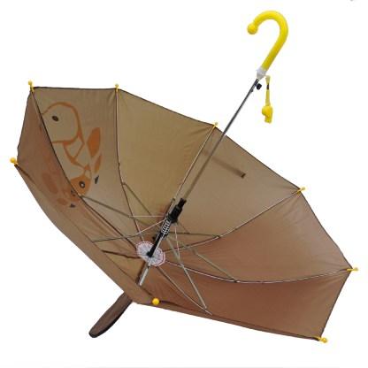 Fashionista Kids Animal Umbrella Sun Rain Protection Windproof Brown Bull