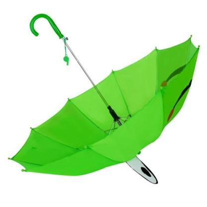 Fashionista Kids Animal Umbrella Sun Rain Protection Windproof Leaping Frog