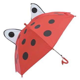 Fashionista Kids Animal Umbrella Sun Rain Protection Windproof Lady Bug