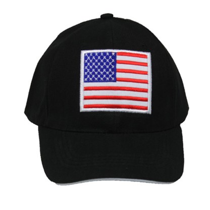 Silver Fever® Classic Baseball Hat 100% Adjustable Unisex Trucker Cap - Made to Last Embroidered USA Flag