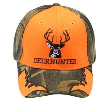 Silver Fever® Classic Baseball Hat 100% Adjustable Unisex Trucker Cap - Made to Last Deer Hunter Insignia
