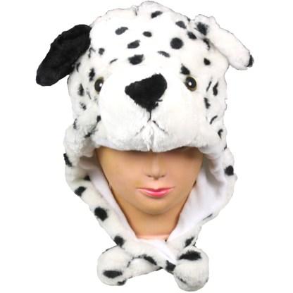 Silver Fever® Plush Soft Animal Beanie Ski Hat Dalmation Dog