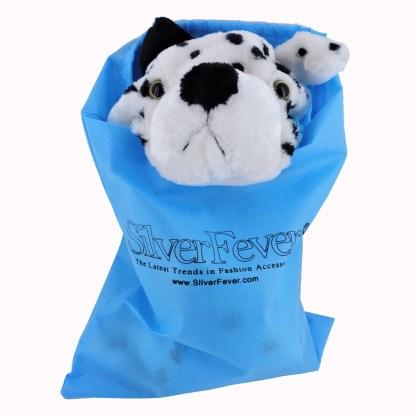 Silver Fever® Plush Soft Animal Beanie Ski Hat Pink Fox