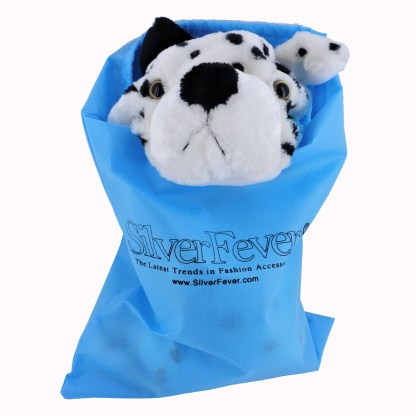 Silver Fever® Plush Soft Animal Beanie Hat w/ Built-In Mittens Paws White Leopard