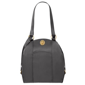 Baggalini Mendoza Backpack Shoulder Purse Convertible Charcoal