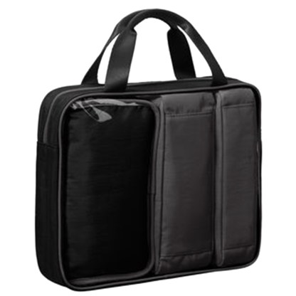 Baggallini Travel Trio 4 Piece Organizer Cube Set Cosmetic & Small Storage Black Charcoal