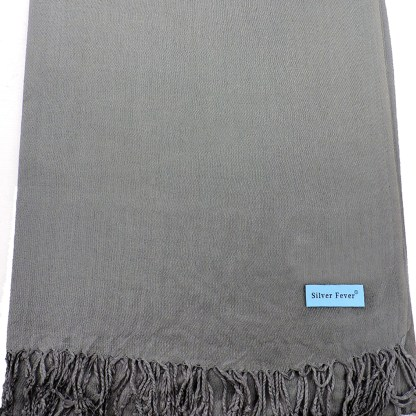 Nepal Solid Wine Lavender 2 Ply Pashmina Shawl Scarf Stole