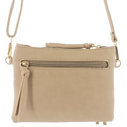 Silver Fever Crossbody Hipster Mini Indie Handbag L Blue Wristlet Hndl