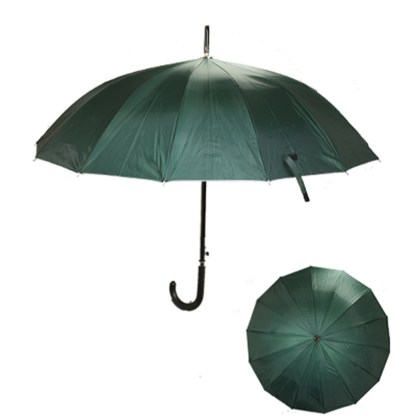 "Rain or  Sun UV Protection Umbrella Silver Fever ® 42 ""CanopyCoverageWindproof Winter Green"