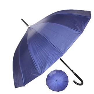 "Rain or  Sun UV Protection Umbrella Silver Fever ® 42 ""CanopyCoverageWindproof Navy Blue"