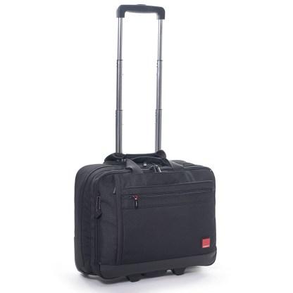 Hedgren Red Tag Rotor Carry On Mobile Office 15.6 Laptop Handbag, Black