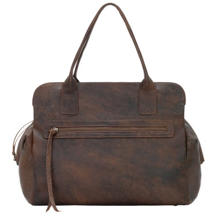 TrueLu American West Shoulder Bag, Ava Walnut
