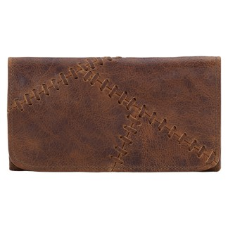 TrueLu American West Wallet, Harlow  Chestnut Clay
