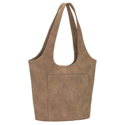 American West Bandana Ladies Soft Bucket Tote Stone Sagebrush