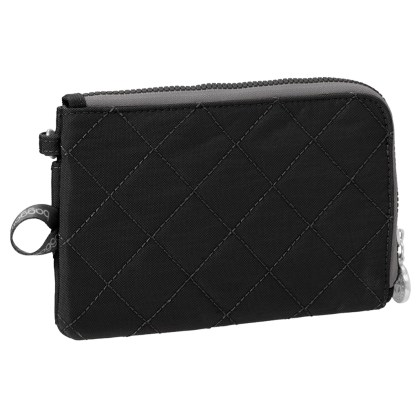 Baggallini Travel RFID Passport & Phone Wristlet Black/Charcoal