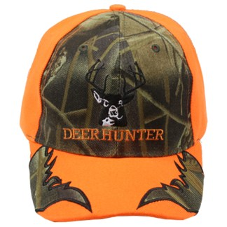 Silver Fever® Classic Baseball Hat 100% Adjustable Unisex Trucker Cap - Made to Last - Deer Hunter Camouflage