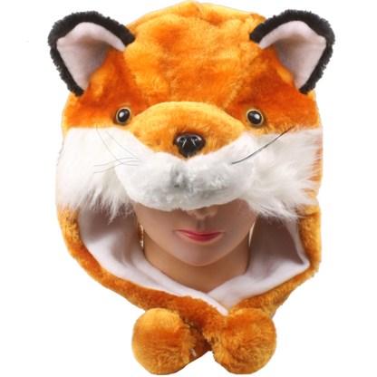 SILVERFEVER Plush Soft Animal Beanie Ski Hat Fire Fox