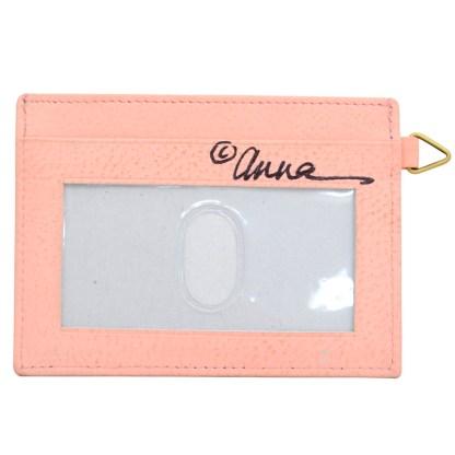 Anna by Anuschka Leather Slim Credit Case Wallet - Vintage Garden