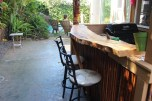 Isnt the bar-top lovely? I love plank tops!!