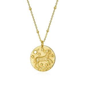 Collar Medalla Zodiaco