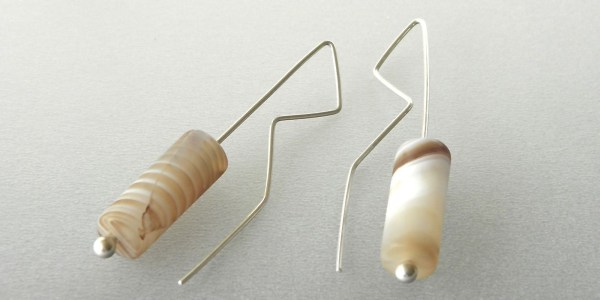 877 - Agate Earrings