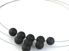 881 - Three Strand Jade Necklace