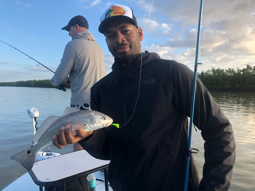 Winter time Everglades fishing