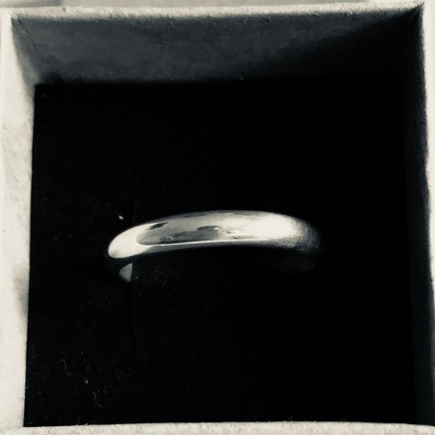 Wedding band - 4mm wide