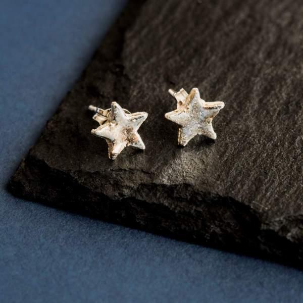 Silverkupe Star Studs- small