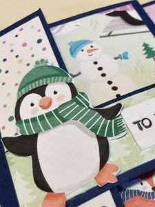 Easy Penguin Trifold Cards