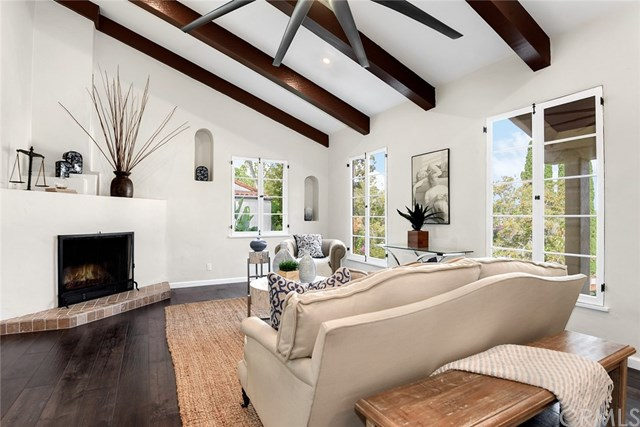 Stunning Hollywood Hills Spanish Colonial With Vaulted Ceilings