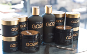 Quality hair products at Silver Lake Studio salon in Los Angeles