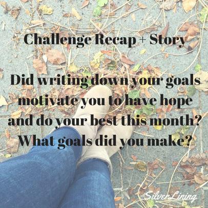 https://silverliningcommunity.wordpress.com/2016/03/12/challenge-recap-6/