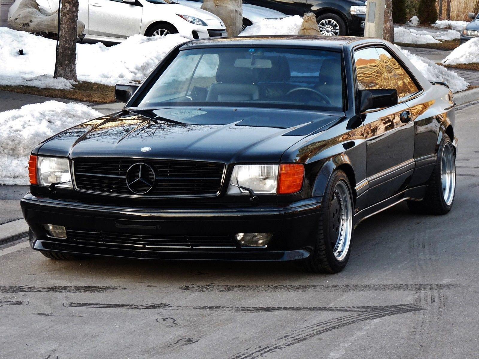 Mercedes Benz W126 Amg Sec Gallery Silver Machines Club