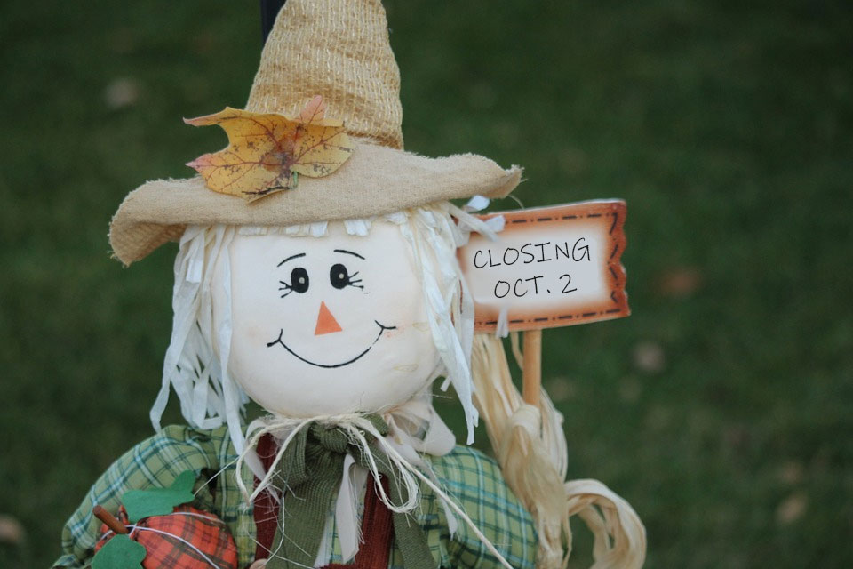 Silver Maple Farm Store is closed for the season