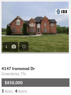 4147 Ironwood Dr Greenbrier TN