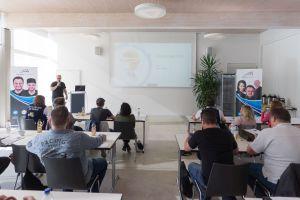 Dirk Schumacher als Sprecher auf dem Babba Business Day 2019 in Großostheim