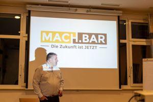 Matthias Jäger auf dem MACH.BAR Event 2020 in Biberach
