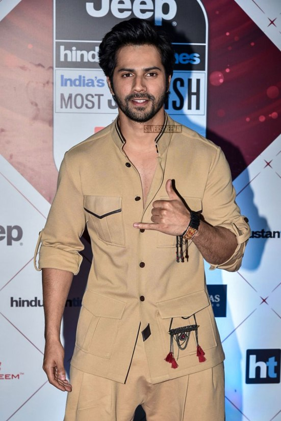 Varun Dhwan at HT Stylish Awards 2018